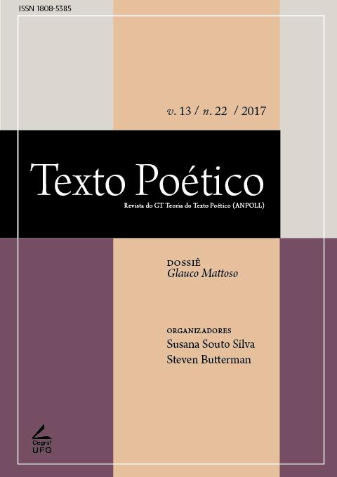 Visualizar v. 13 n. 22 (2017): Dossiê Glauco Mattoso