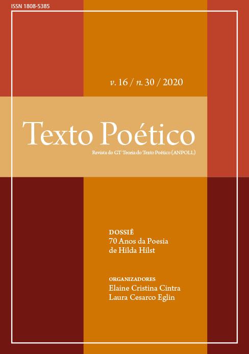 Visualizar v. 16 n. 30 (2020): 70 anos da poesia de Hilda Hilst