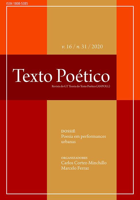 Visualizar v. 16 n. 31 (2020): Poesia em performances urbanas